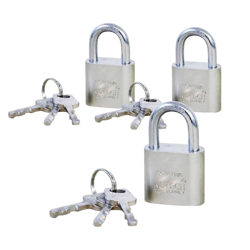 특수열쇠 799 자물쇠, 3개