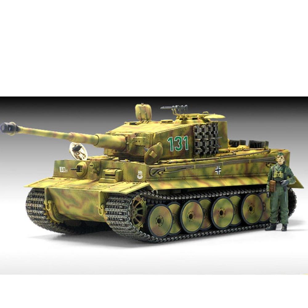 아카데미과학 프라모델 1:35 타이거-1 중기형 탱크 13287