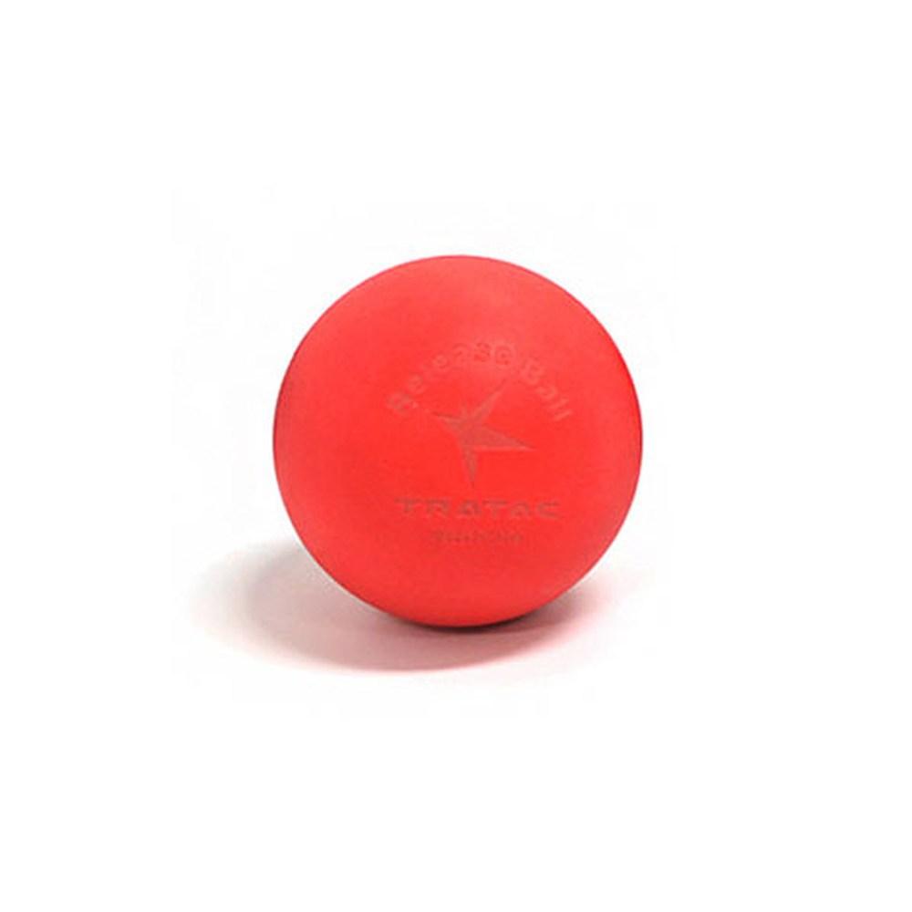 트라택 릴리즈볼 기본형 원형 마사지볼, 레드, 1개 (POP 45079627)