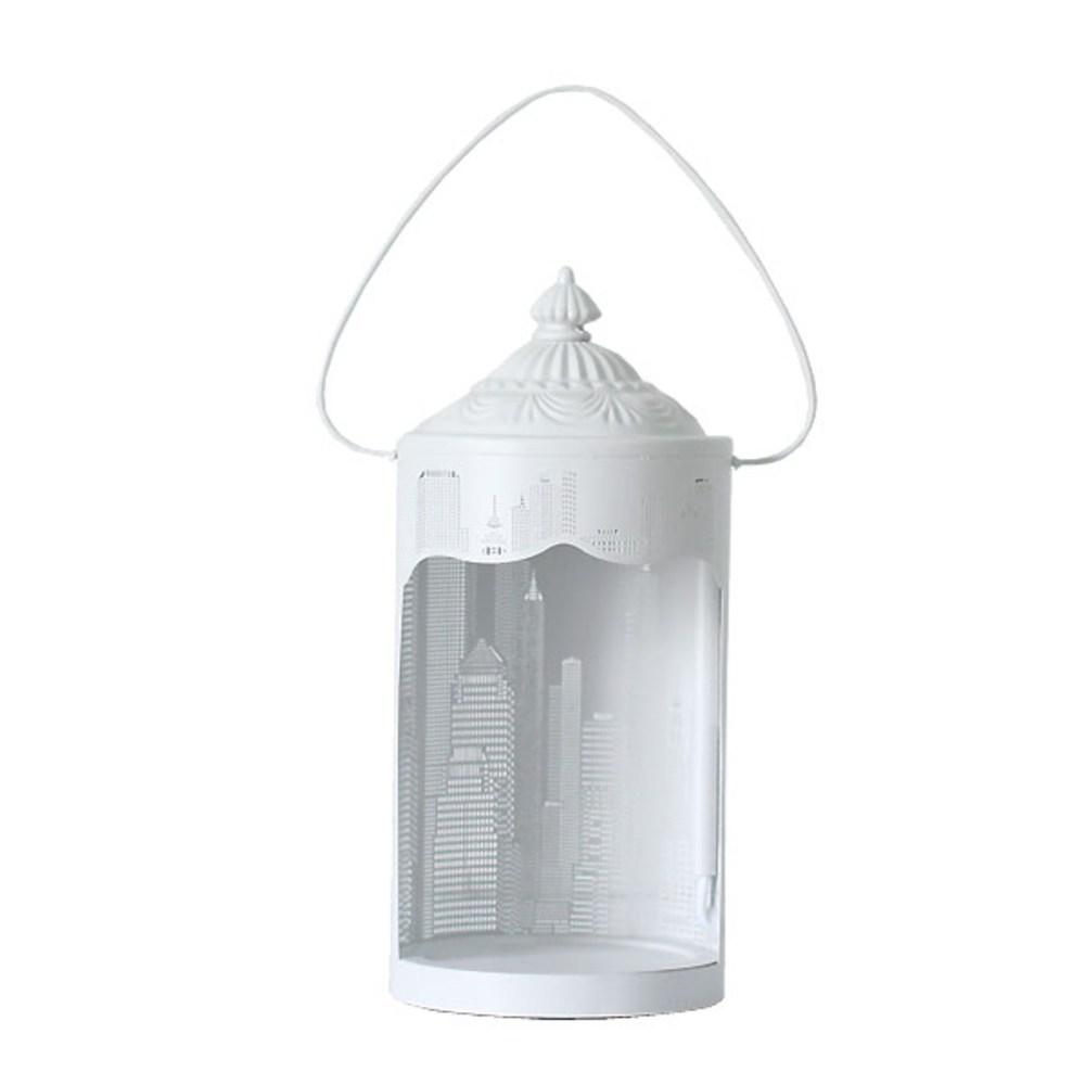 캐피탈 원형 캔들 워머, 화이트