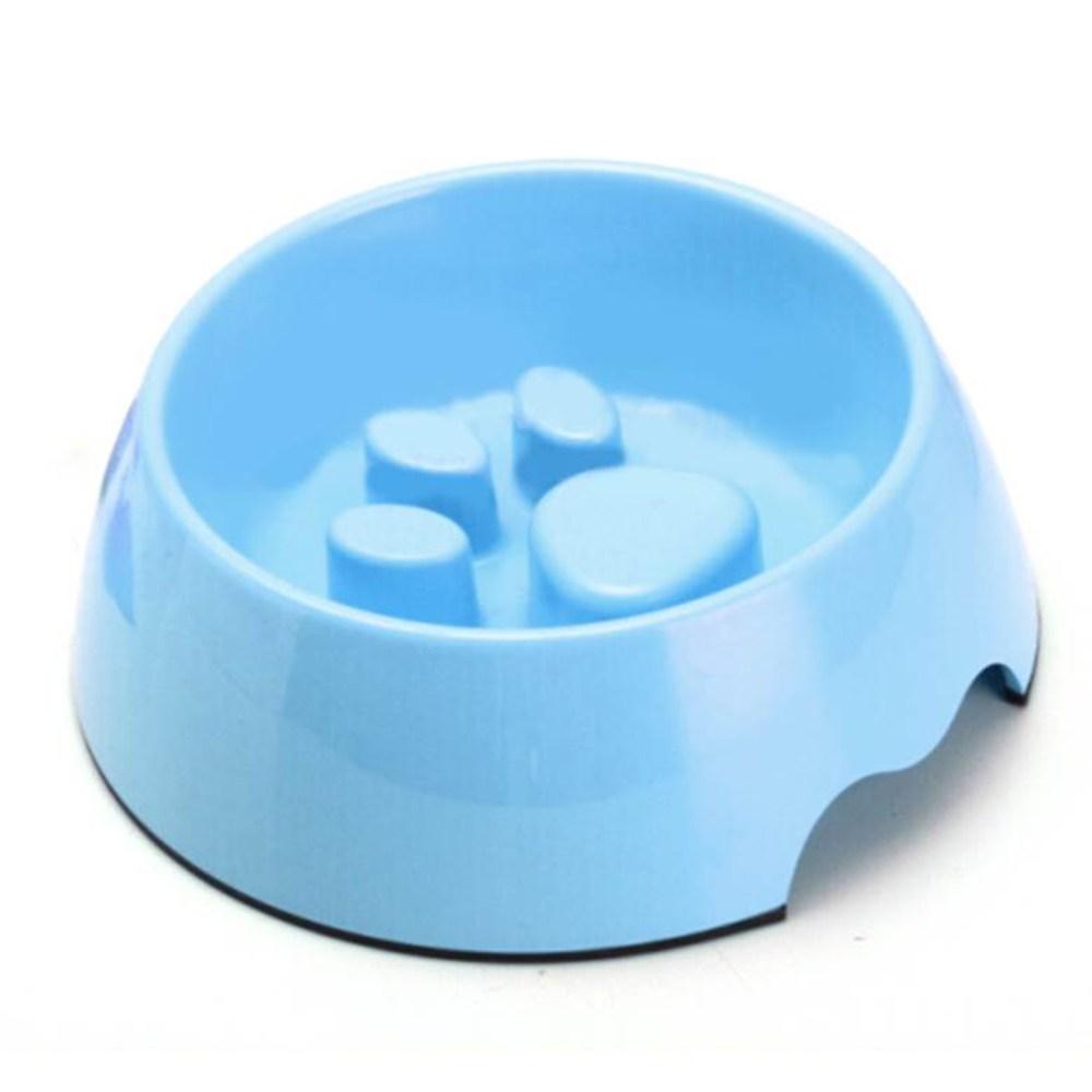 바이셀 슬로우급식기 발바닥, 블루