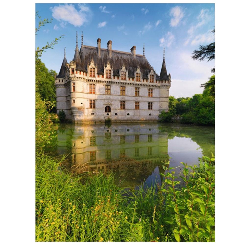 라벤스부르거 1500조각 프랑스 루아르의 고성 아제르리도 RAW163250, 6세 이상