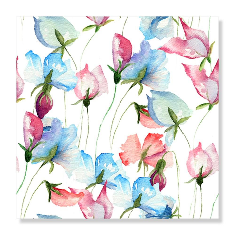 디아섹액자 벽걸이용, Sweet pea flowers