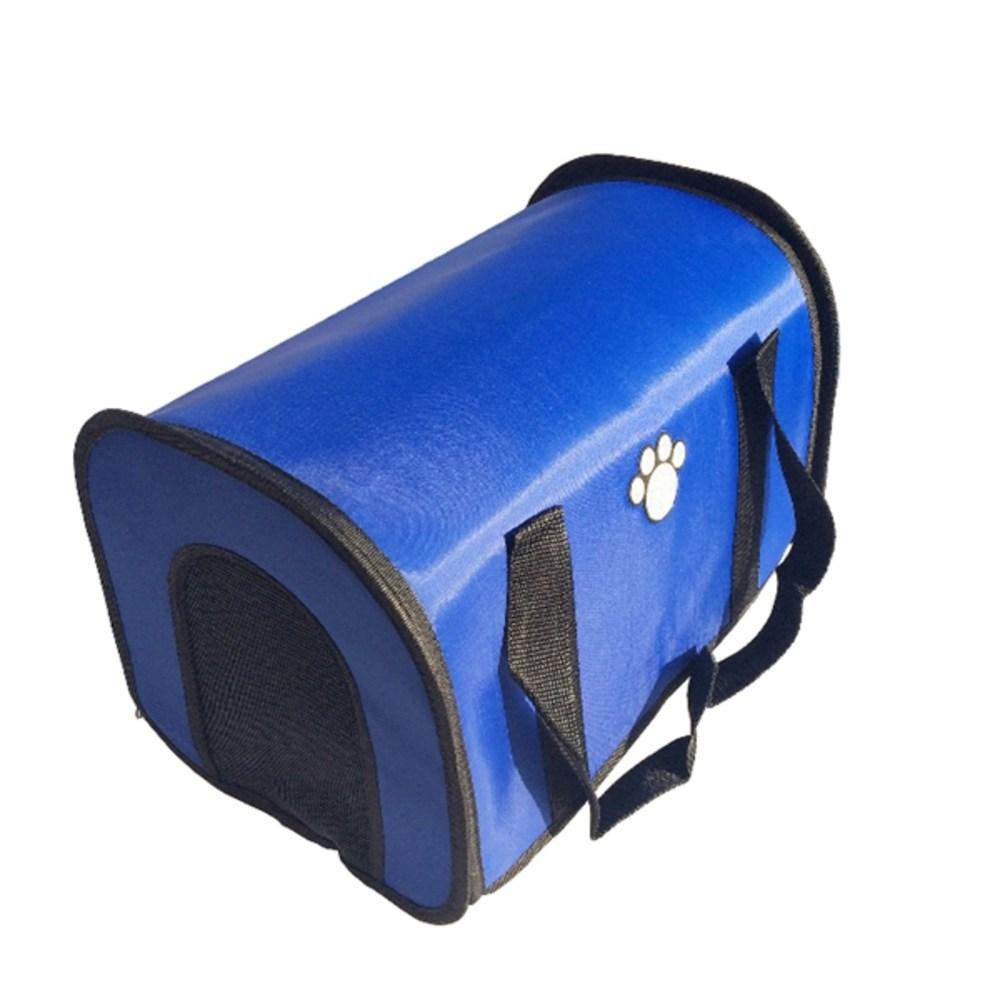 키즈본 땡땡이 동물 PYW0008 이동가방, 블루