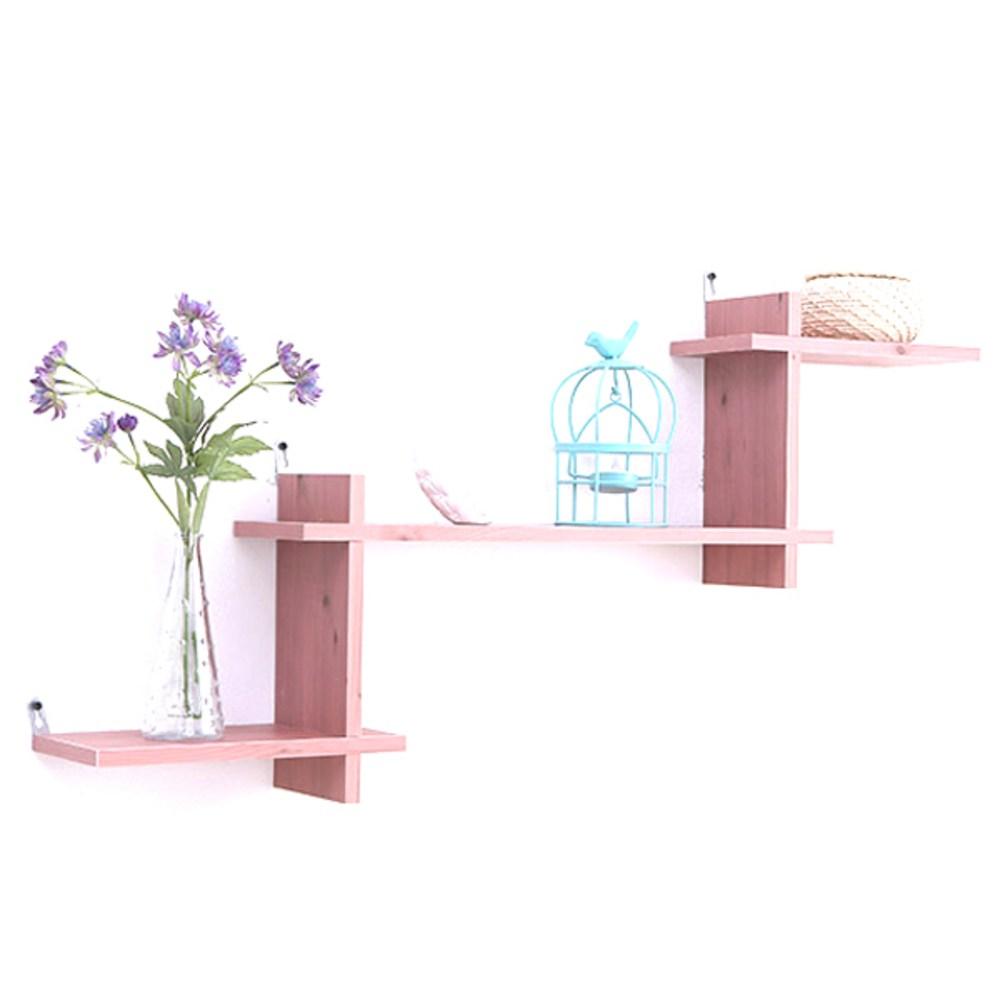 아라마 끼움 계단선반, 핑크