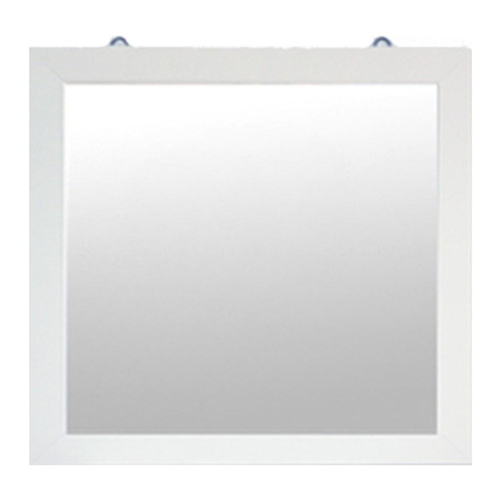 투에스 정사각800벽걸이거울, 아이보리