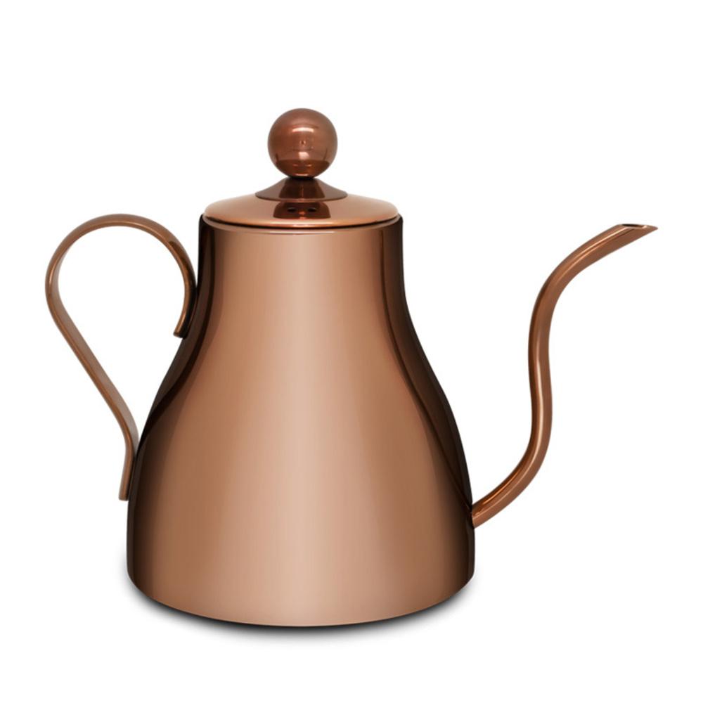 벨라쿠진 브라스 드립 커피 포트 800ml, 단일 색상, 1개