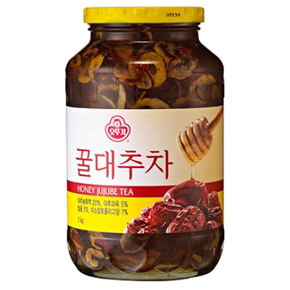 오뚜기 꿀대추차, 1kg, 1개