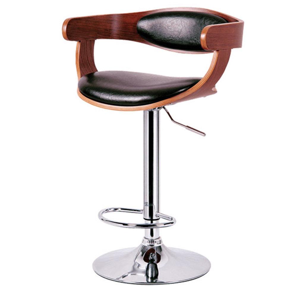 다우체어 노니아 스틸 의자 F, 블랙