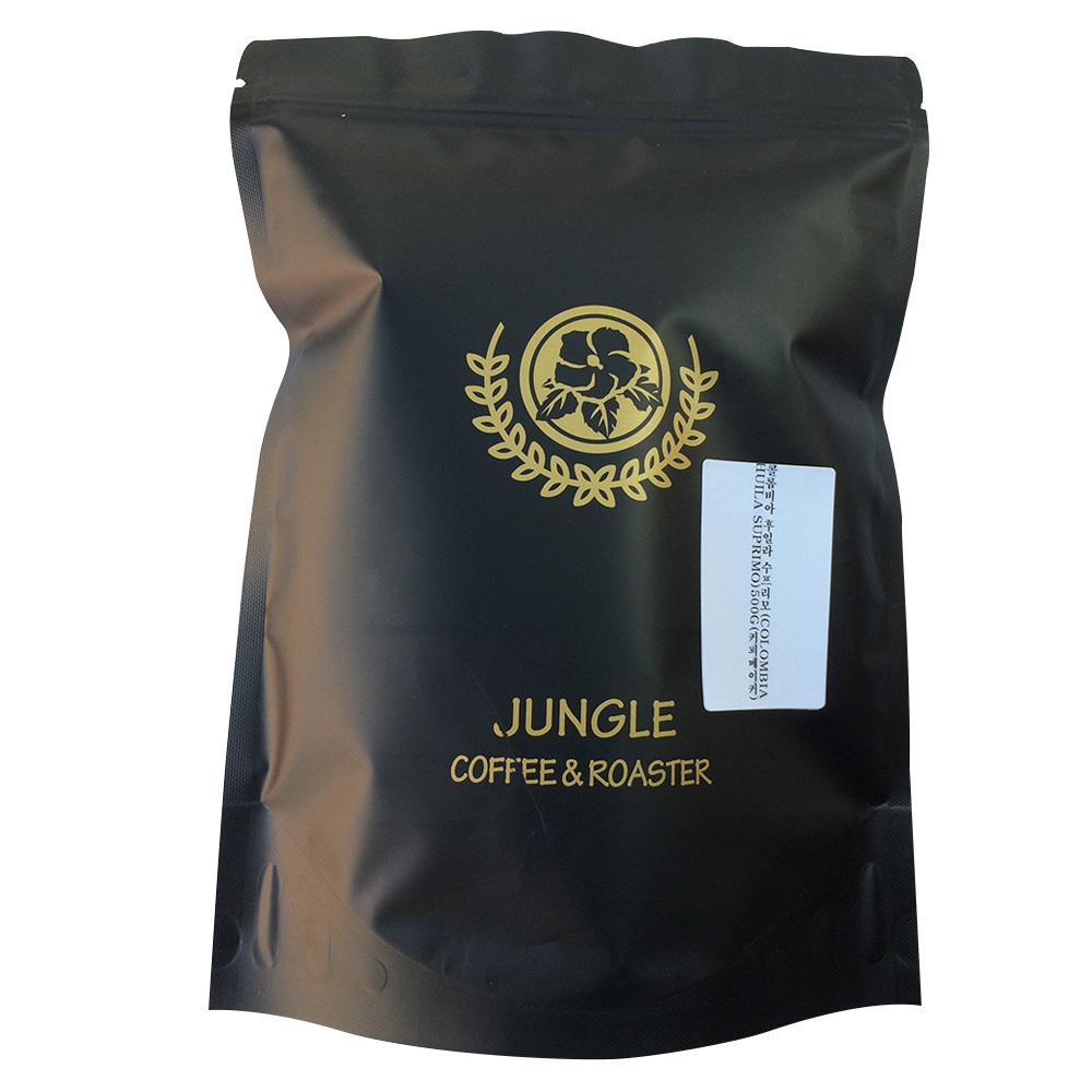 정글인터내셔널 커피/콜롬비아 후일라 수프리모, 커피메이커, 500g x 1개