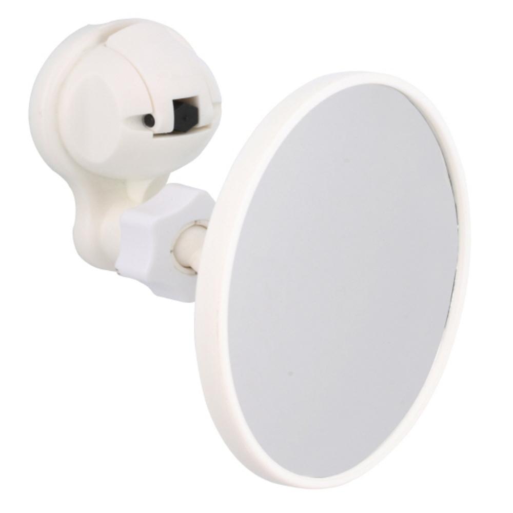 페카 D36 흡착 원형 거울 화이트, 1개