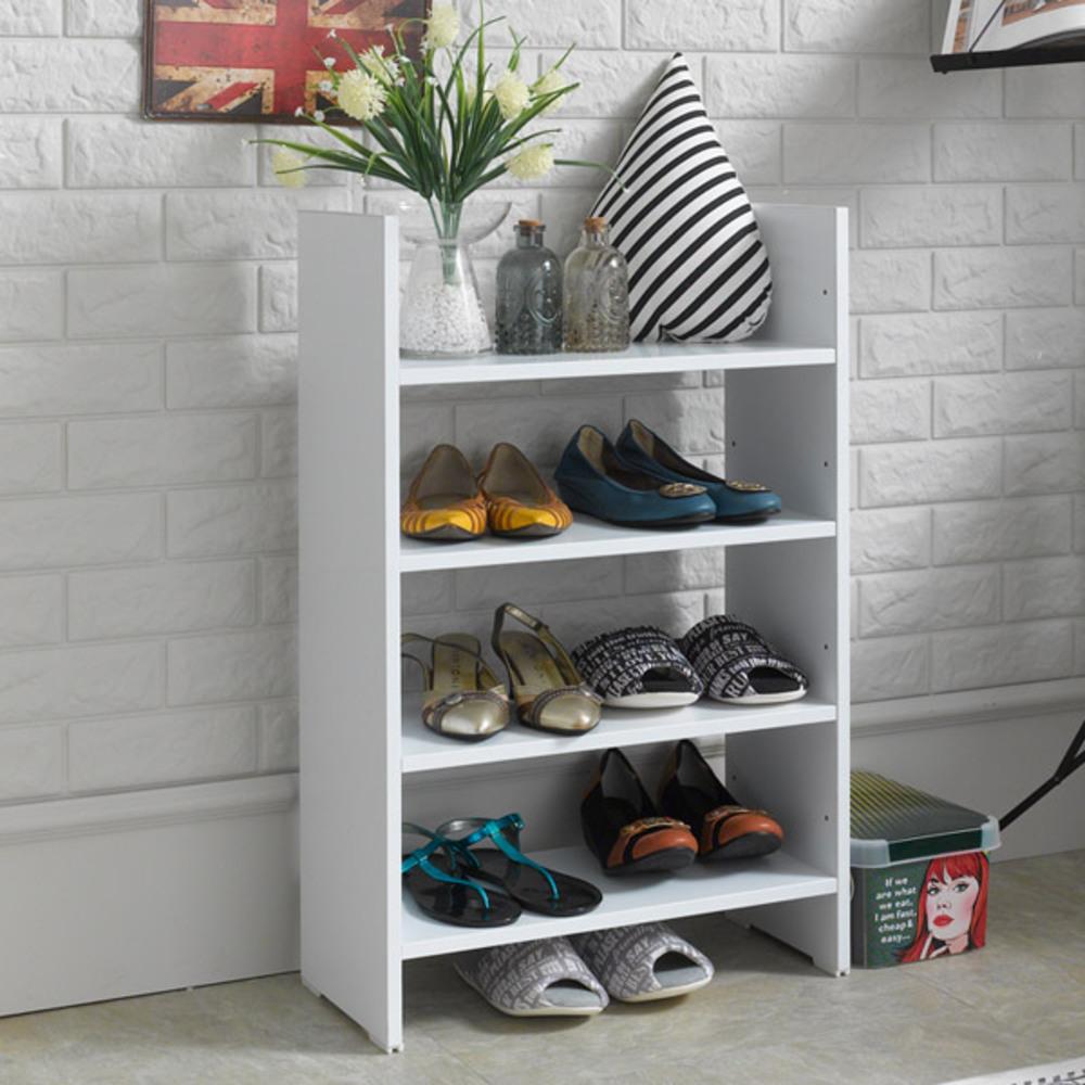 제우스 DIY 500 수납 신발장, 올화이트