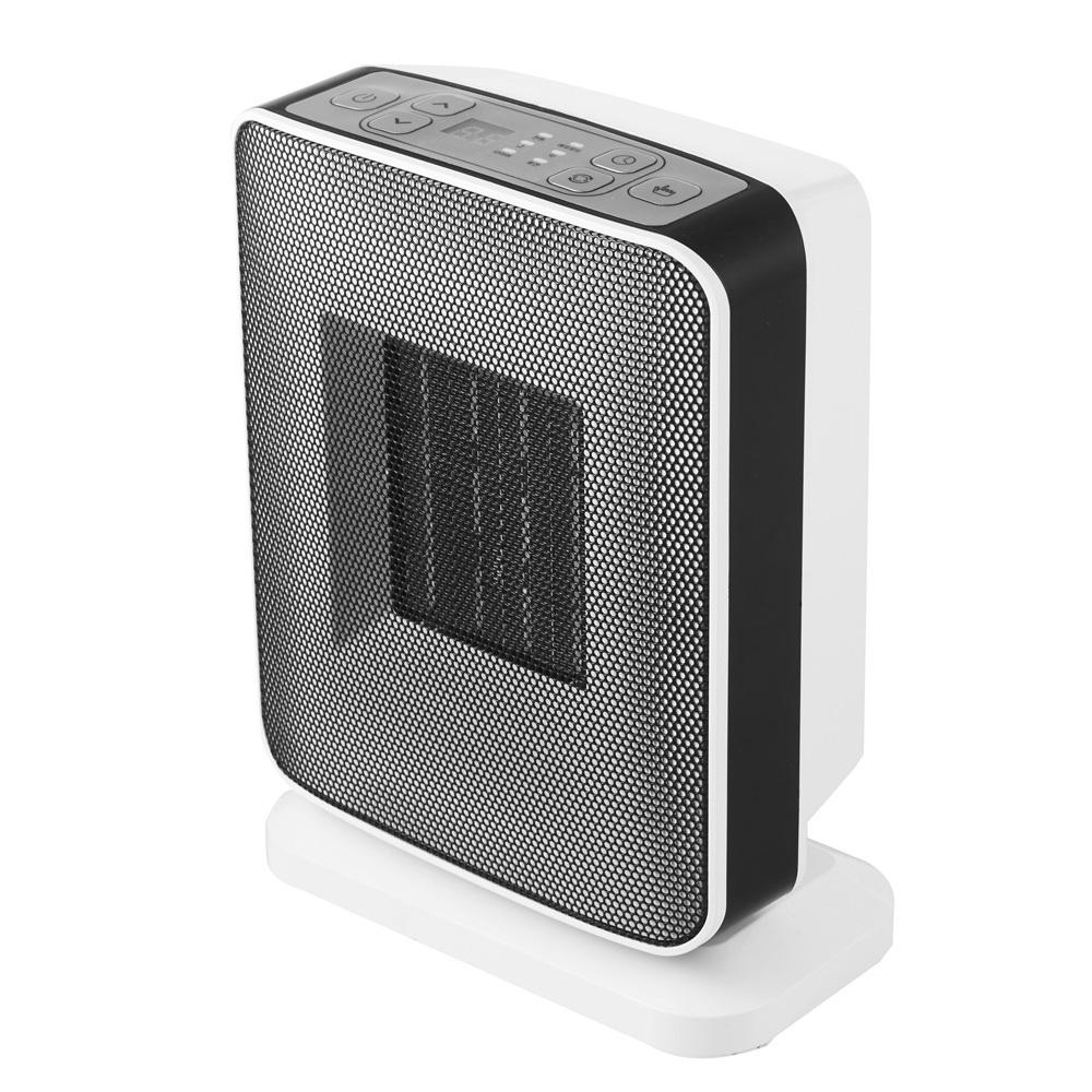 유니맥스 PTC 마이콤식 전기 미니온풍기 UMH-911D, 화이트 + 블랙