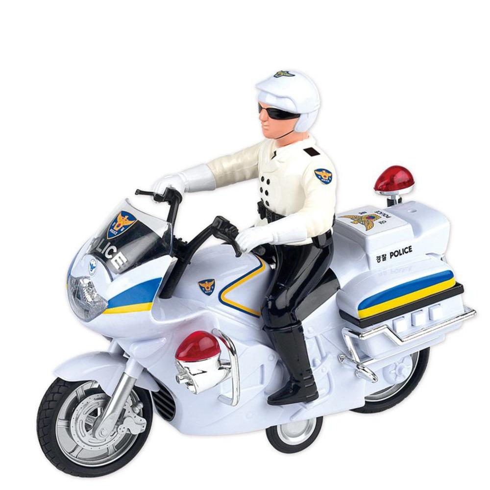 바니랜드 출동 112경찰 오토바이, 단일색상
