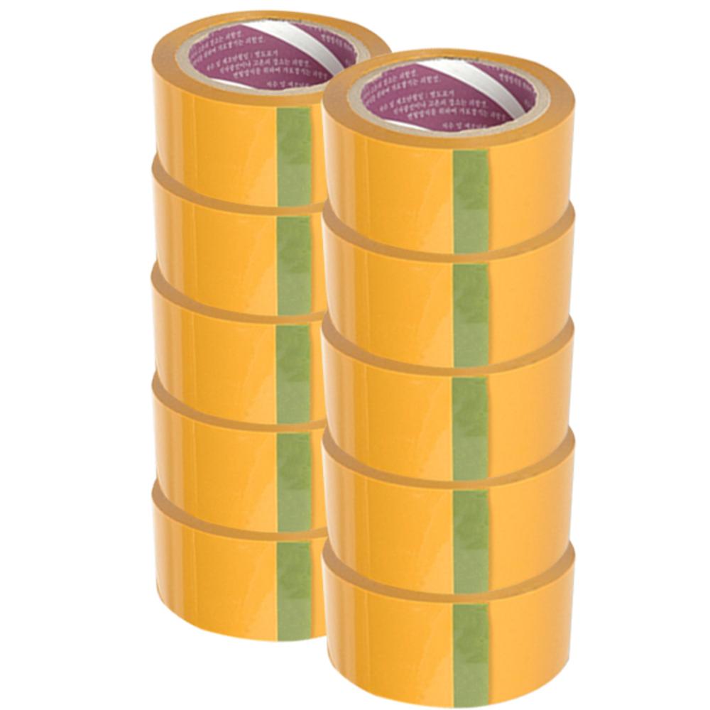 JB테이프 OPP 박스테이프 황색60m, 10개입