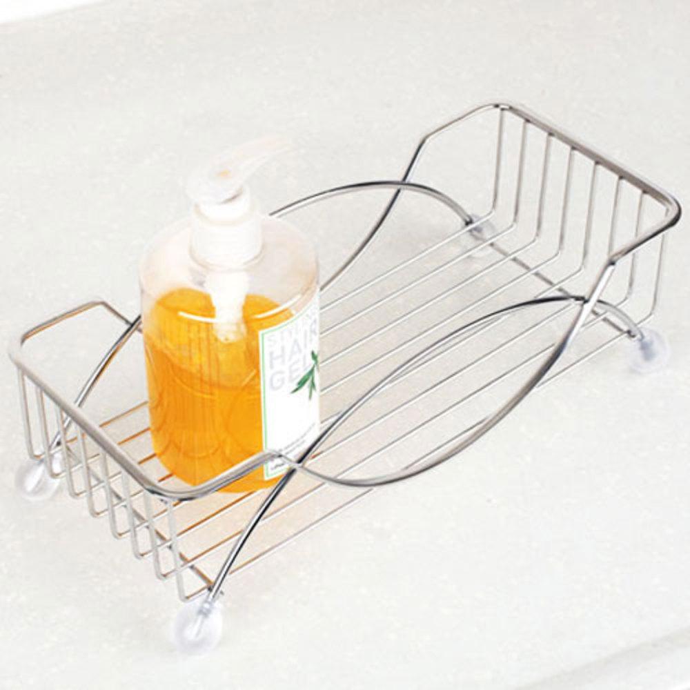 스타픽스 압연 샴푸랙 1단 욕실선반, 단일 색상, 1개