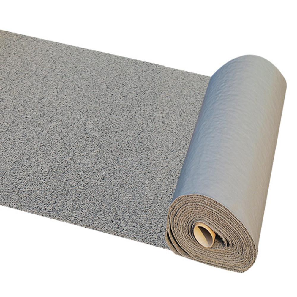 굳센글로벌 미끄럼방지 코일매트 A타입 회색 120 x 100 cm, 1개