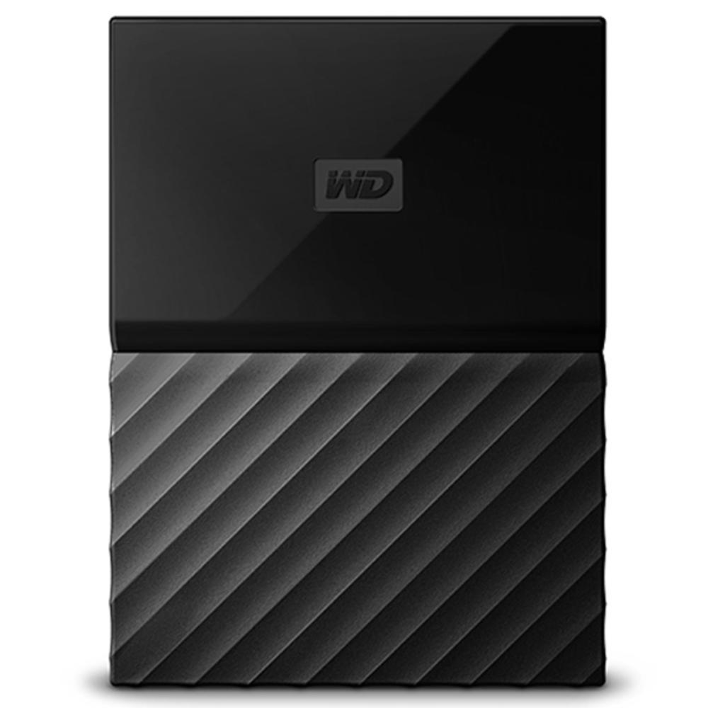 WD My Passport 휴대용 외장하드 WDBYNN00, 1TB, 블랙