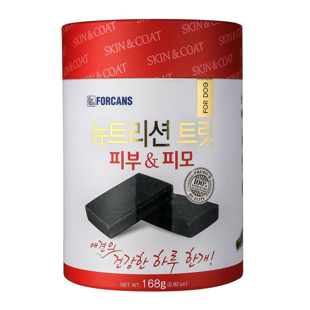 포켄스 애견 영양제 뉴트리션 트릿 피부&피모 168g, 1개