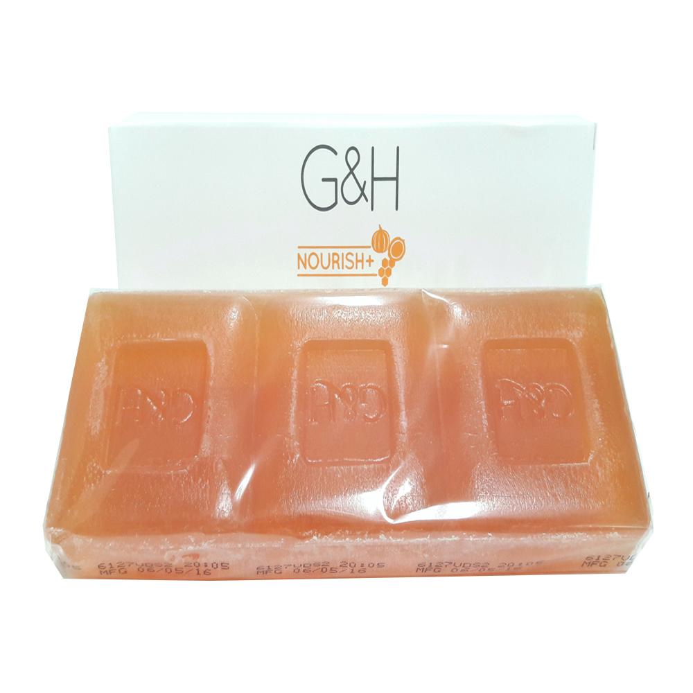 암웨이 G&H 너리쉬 컴플렉션바, 250g, 3개입