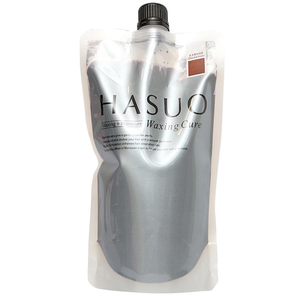 하수오 헤어용 왁싱큐어 500g, 초코브라운, 1개