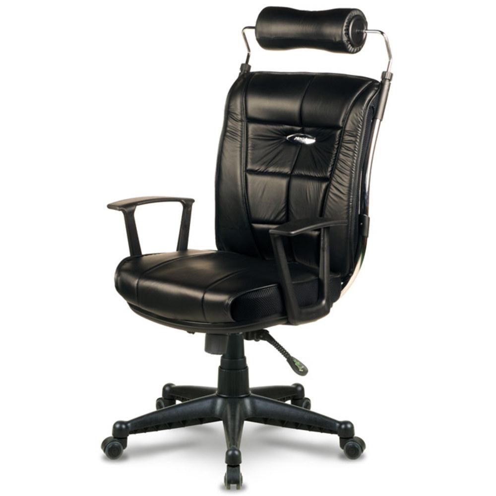 체어포커스 침대처럼 편안한 제우스 스프링쿠션 의자, 블랙