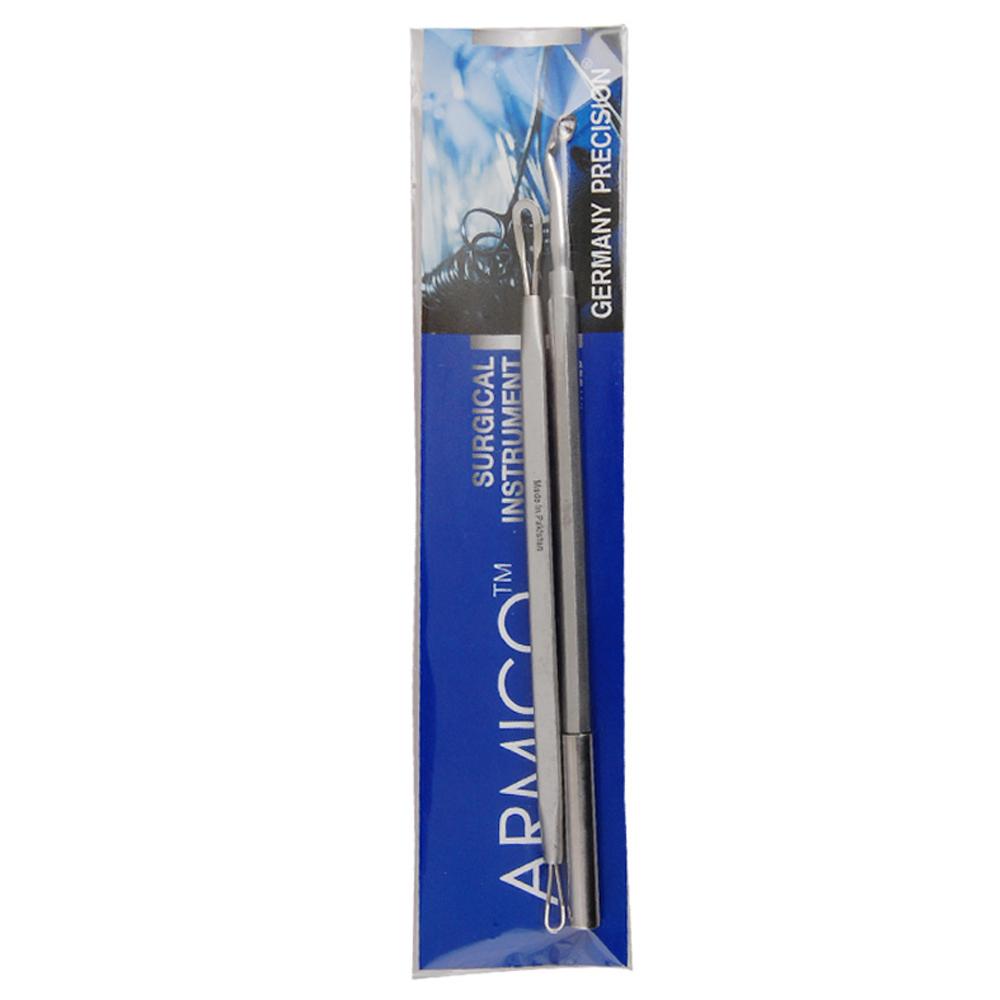 아미코 의료용 큐렛 여드름기 루프 + 창, 1세트