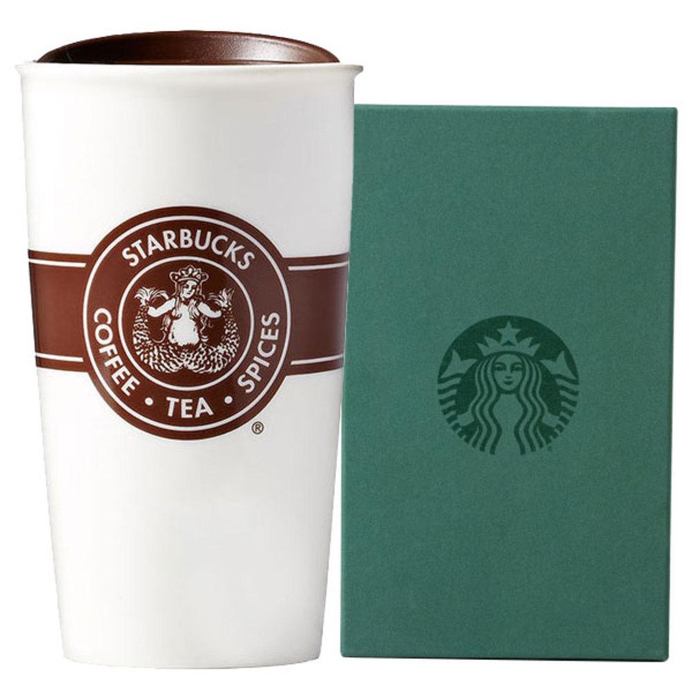 스타벅스 시애틀 더블월 라인 컵 355ml + 기프트박스, 혼합색상