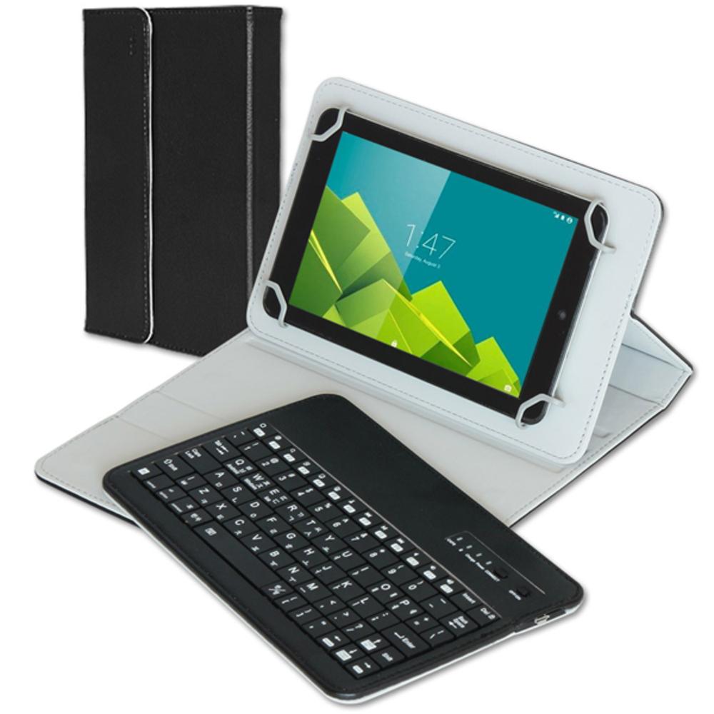 코시 블루투스 태블릿PC 케이스 키보드 KB1399CSBT, 블랙
