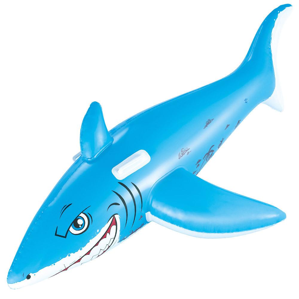 Bestway 타고노는 상어 튜브, 혼합 색상, 1개