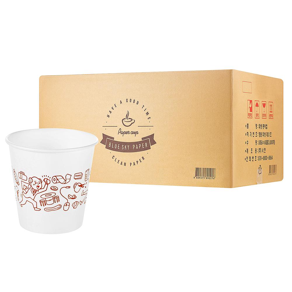 서연 펄프 종이컵, 3000개입, 1개 (POP 16292851)