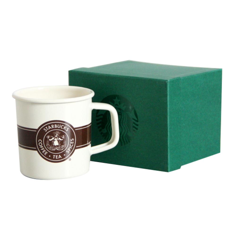 스타벅스 시애틀 스텐레스 컵 + 상자, 혼합 색상, 1개