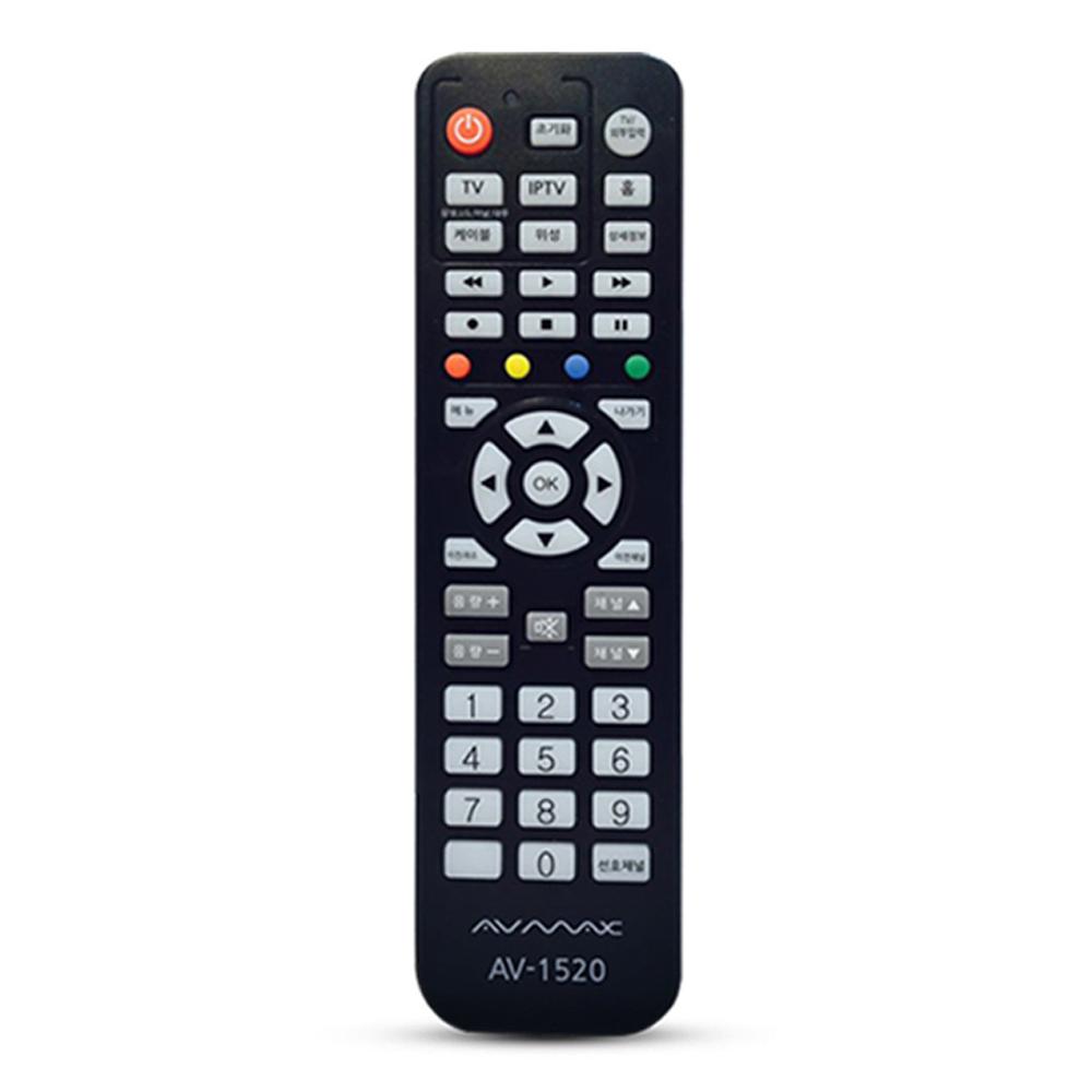 AV-MAX TV 통합 리모컨 AV-1520