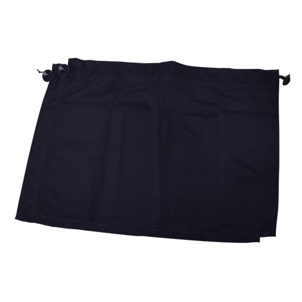 평화자동차 시크릿 차량용 커튼, 블랙, 2개입