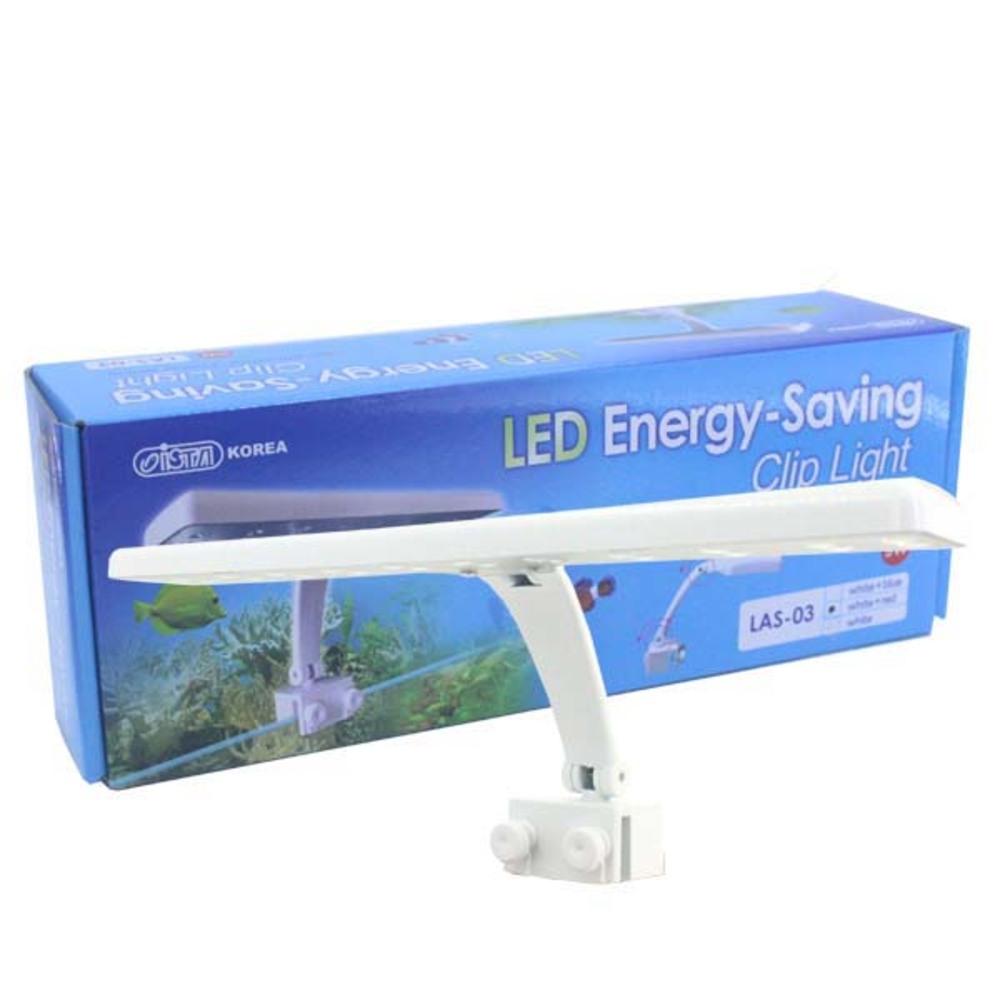 이스타 수족관용 LED등 LAS-03 white + red, 1개입