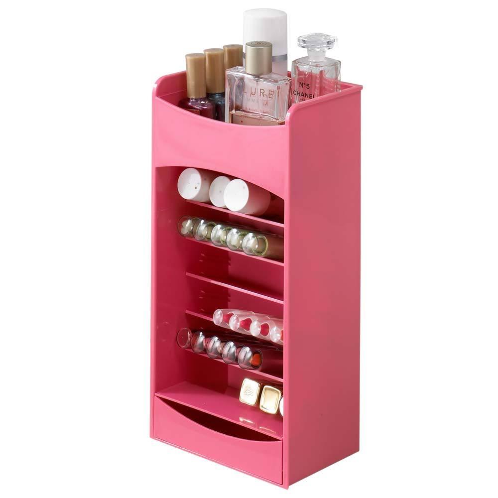 코스메이크 립스틱정리함, 핑크, 1개