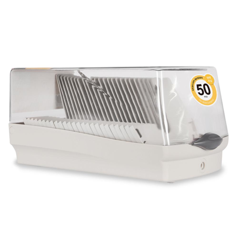 엑토 CD 컨테이너 50매 CDC-50K