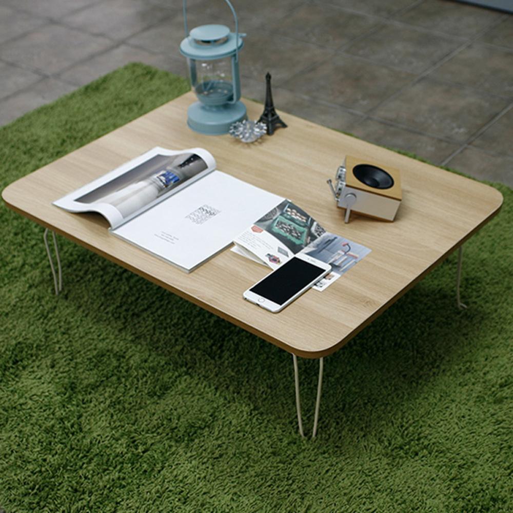 소프시스 위더스 접이식 테이블 860, 티크/베이지프레임