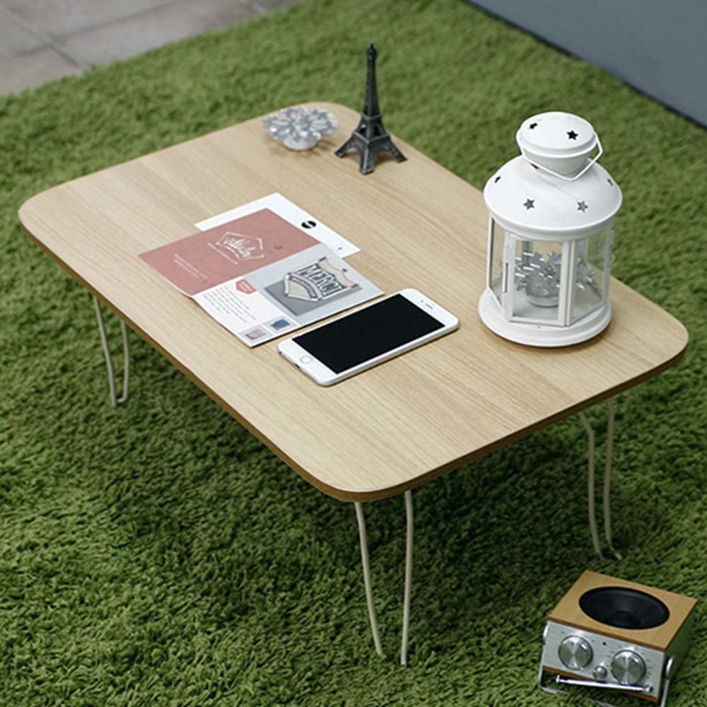 소프시스 위더스 접이식 테이블 640, 티크/베이지프레임
