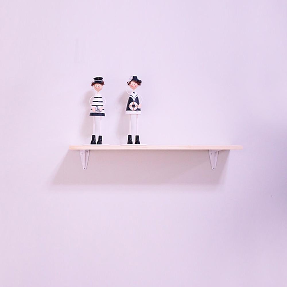 리노 프리미엄 원목 벽선반, 화이트