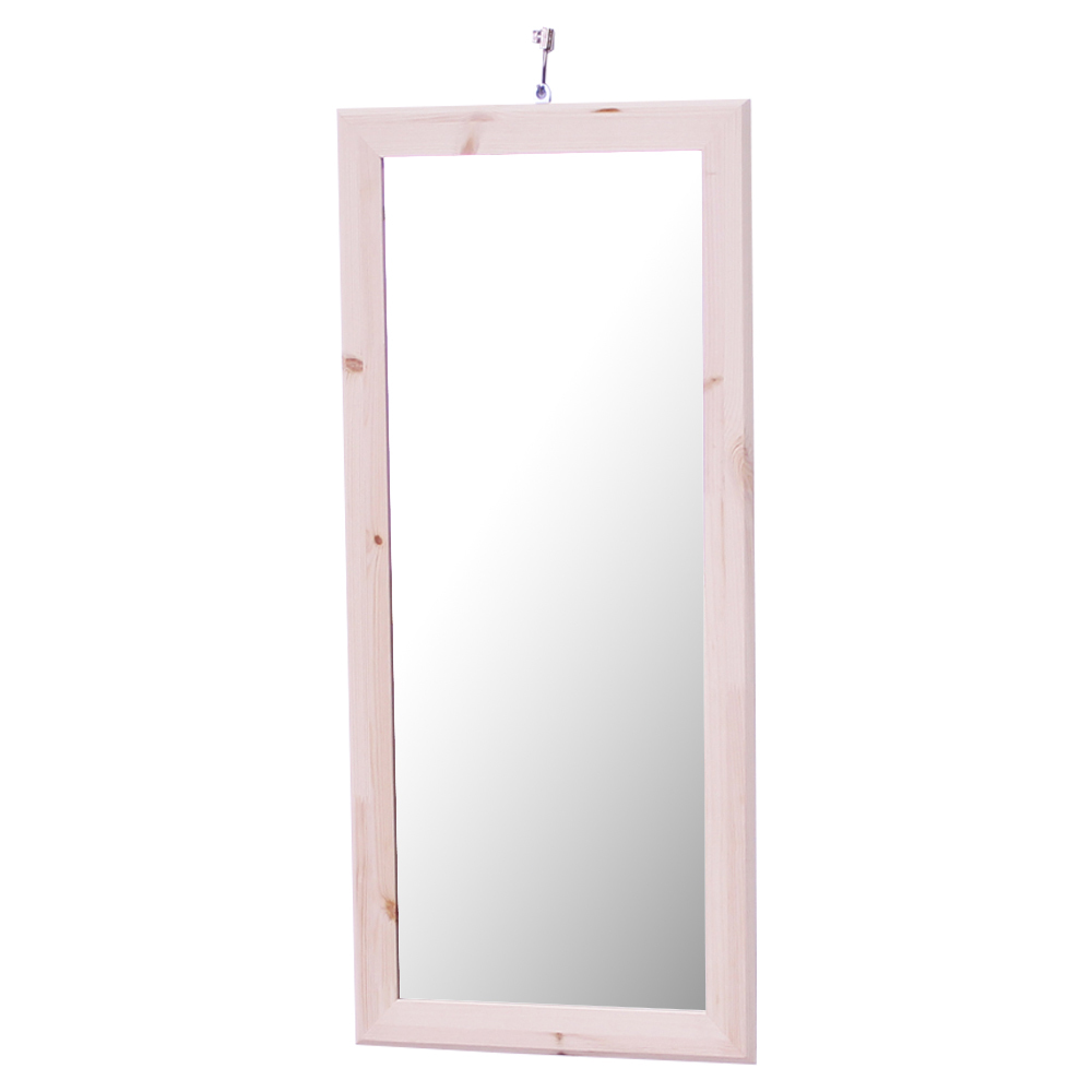 리노 프리미엄 원목 거울 프레임 350/740, 자연 원목