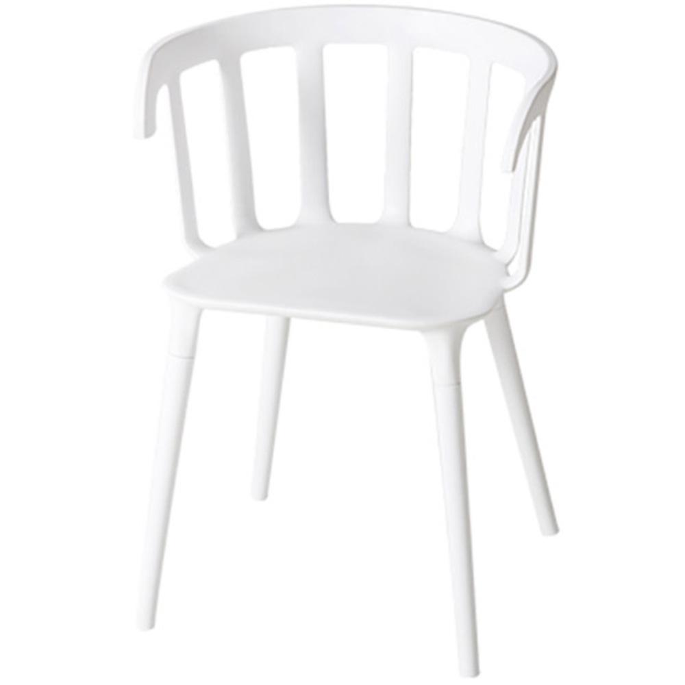 마켓비 BUFFAL 인테리어의자, 화이트