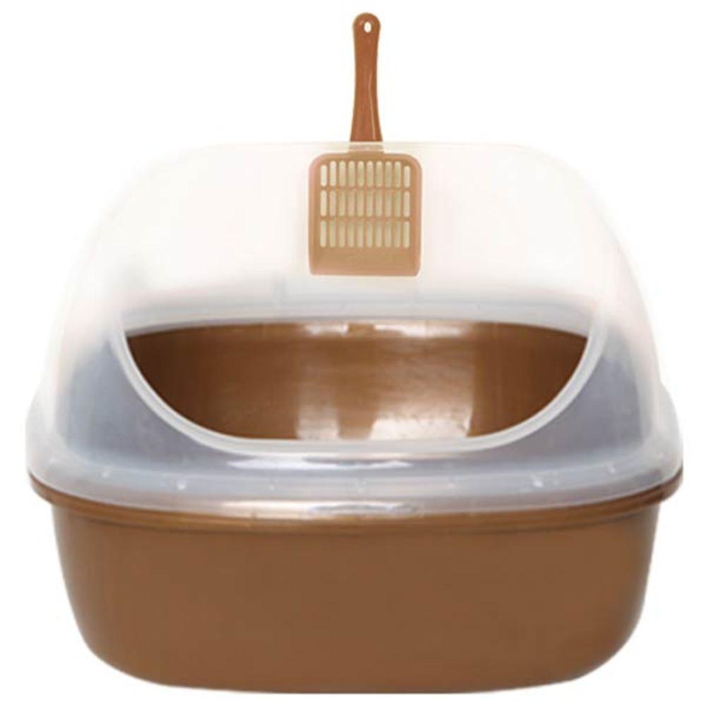 월드펫 점보형 고양이 화장실, 브라운
