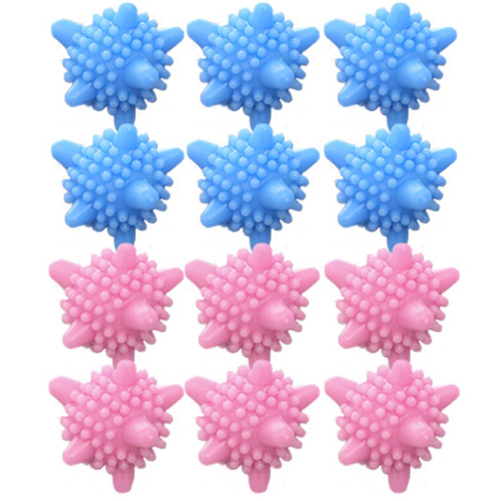 리버그린 도깨비 세탁볼 핑크 6p + 블루 6p, 1세트