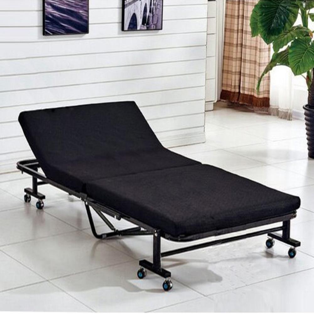 노아가구 접이식 침대 80, 블랙