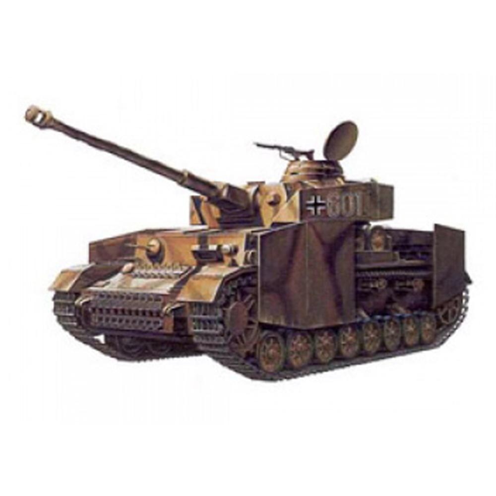아카데미과학 1/35 독일 4호전차 H형 장갑판 장착형 프라모델 TA970, 1개