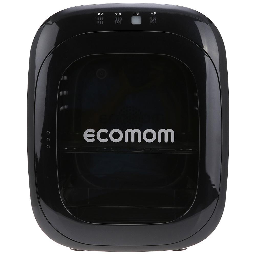 에코맘 음이온 젖병소독기 고급형 ECO-100, 블랙