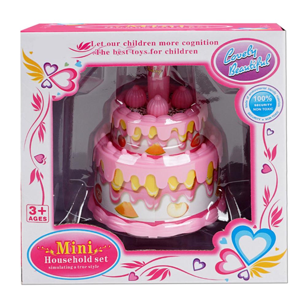 오즈토이 미니 생일축하 케익 멜로디완구, 분홍