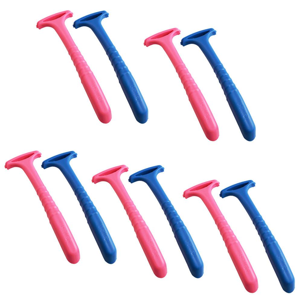 세븐스타 굳은살 면도기 블루 5p + 핑크 5p, 단일상품, 1세트