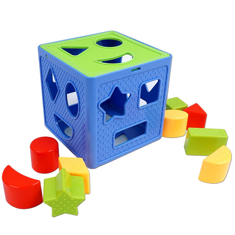 오즈토이 큐브 도형놀이, 혼합 색상